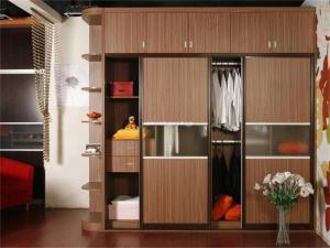 家装室内衣柜