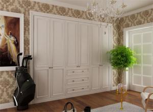家具衣柜实拍图