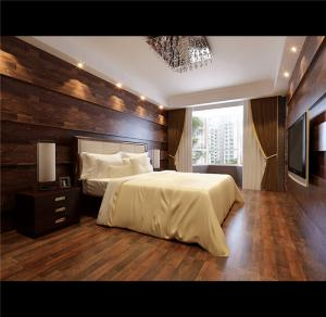 美式小卧室装修图片