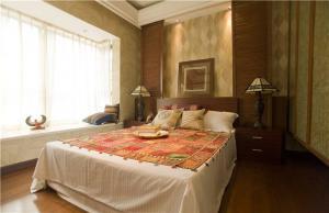 欧式卧室装修样板间