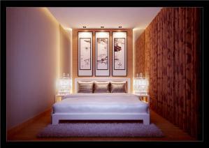 美式小卧室装修案例