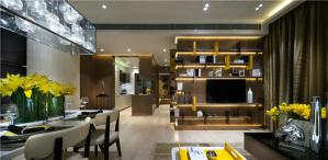 现代风格电视背景墙素材高