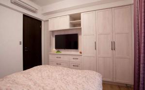 卧室电视背景墙装修定制图