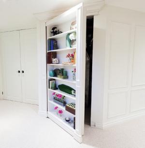 创意家装隐形门设计卫生间