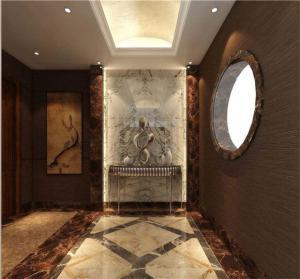 欧式门厅玄关效果图装饰画
