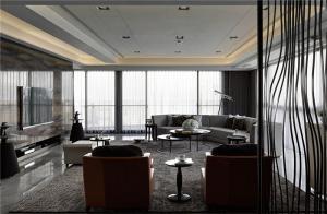 时尚客厅背景墙设计方案