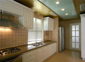厨房整体橱柜颜色搭配