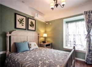 卧室双人床家具图片
