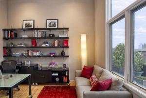 卧室书柜家具图片