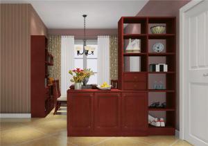 红木鞋柜样板间
