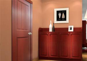 新古典墙体鞋柜