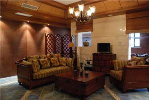 欧式大客厅沙发