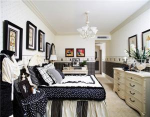 家装卧室布置图片