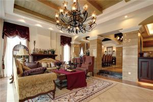 大客厅沙发实拍图