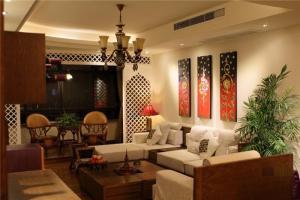 欧式客厅布艺沙发