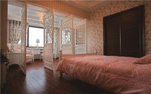 家居卧室飘窗装修效果图