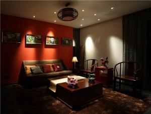 中式家装电视背景墙图