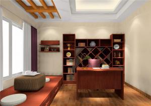 榻榻米书房装修效果图家具
