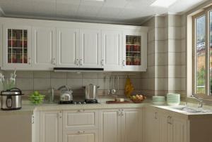 阳台改厨房效果图装修设计