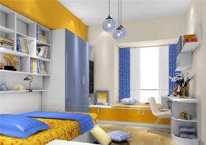 儿童房卧室装修榻榻米家具