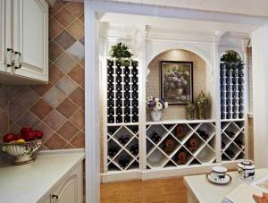 现代风格酒柜搭配实景图