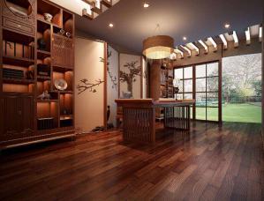 中式风格整体书柜图片
