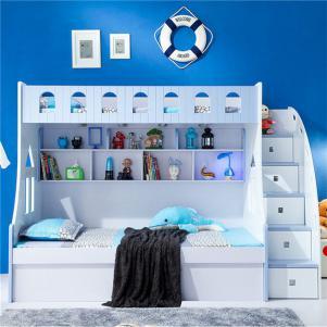 家居上下床储物组合床