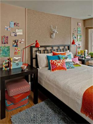 美式儿童房家具图片