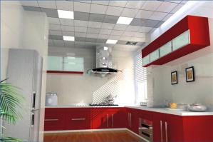 厨房整体橱柜效果图