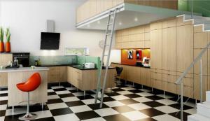 复式公寓整体厨柜