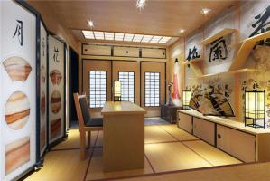 日式书房装饰效果