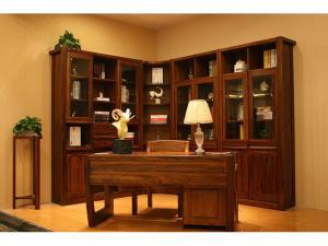 乌木新中式书柜