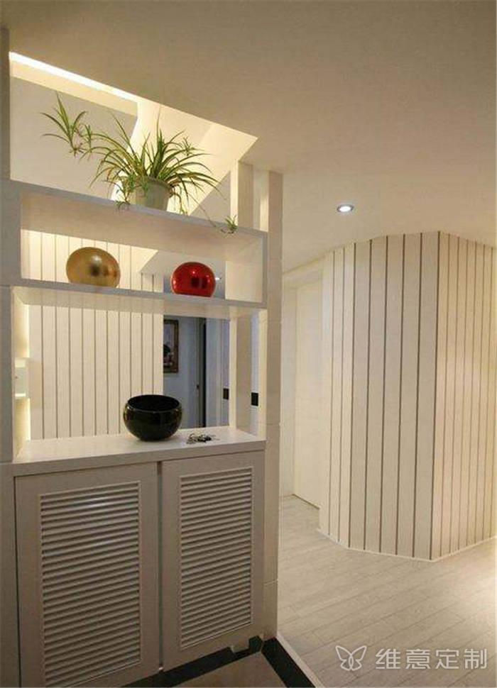 简易玄关装饰柜