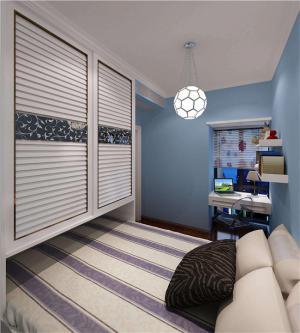 小户型卧室现代简约书房装