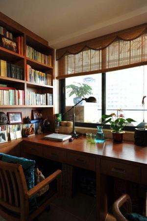 古典经典中式书房装修效果图