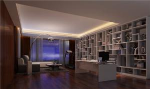 五居室现代书房装修效果图