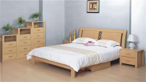 卧室二层床隐形组合家具