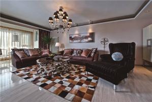 欧式奢华客厅时尚茶几图片欣赏