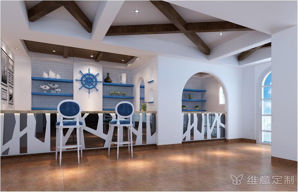 地中海风格吧台设计