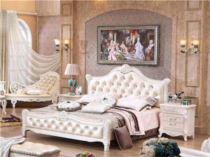 欧式床背景墙搭配
