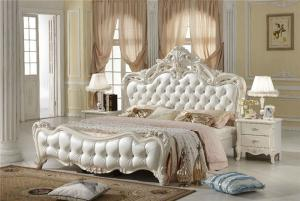 欧式床高清细节图