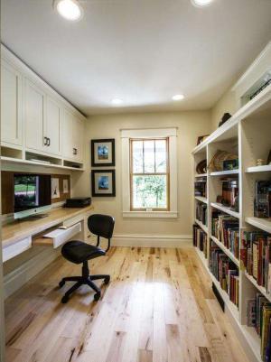 板式家具家庭书房装修效果图
