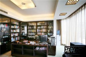 办公环境现代书房装修效果