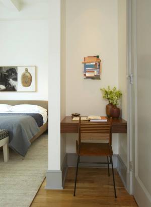 卧室角落小书房装修风格