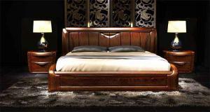 中式实木床家具搭配