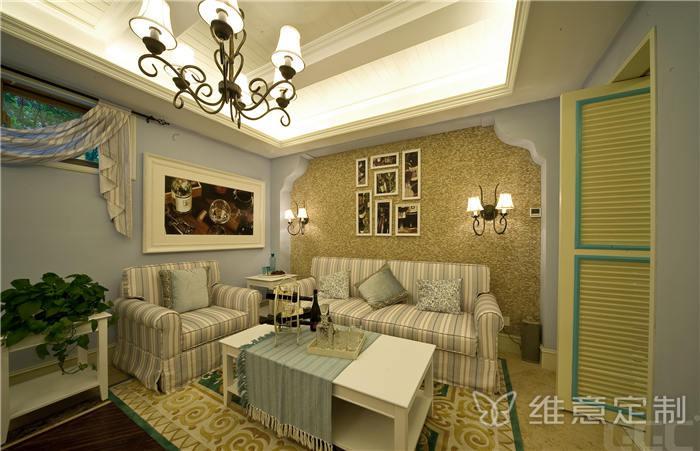 简约新中式客厅家具图片