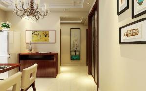 新中式风格走廊