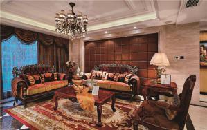 新古典客厅大茶几