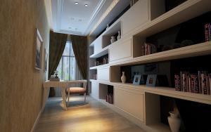 113平家庭书房装修效果图