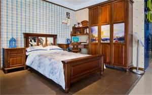 卧室儿童床家居图片